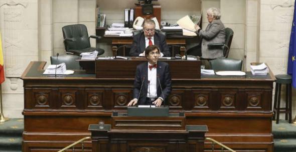 Parlamento belga eutanasia infantil 2014