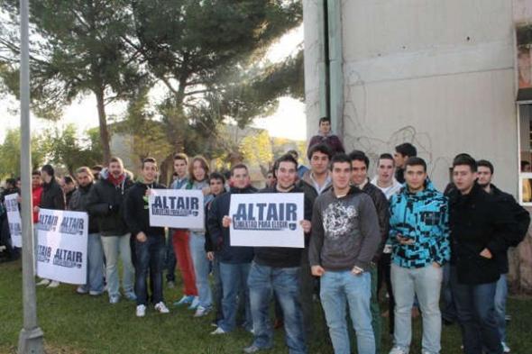 alumnos centro segregador Altair