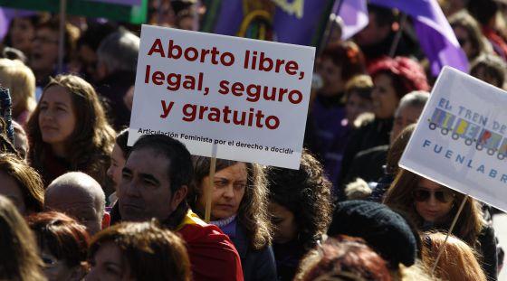 aborto libre tren libertad Madrid 2014