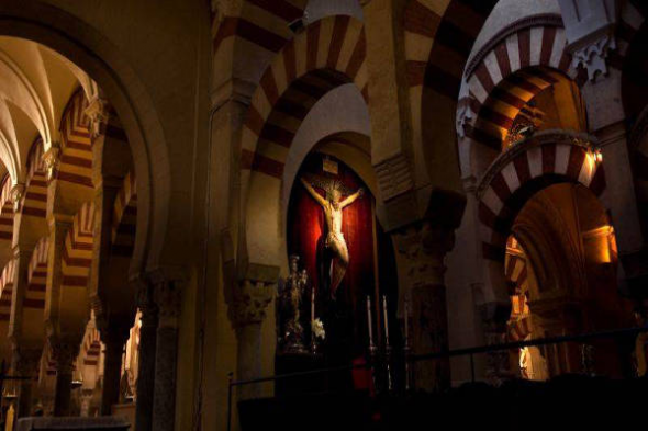 Mezquita de Córdoba crucifijo
