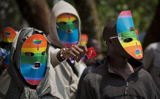 protesta gay Kenia