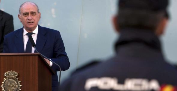 Jorge Fernández ministro Interior PP policía