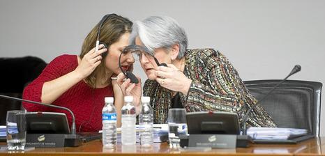 Vicepresidenta de Navarra en Comisión de investigación 2014