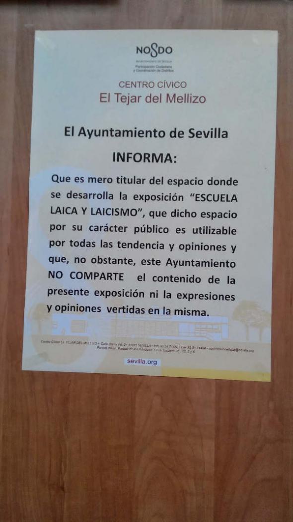 exposición escuela laica sevilla 2014