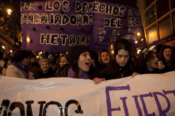 mani 8 marzo Madrid 2013