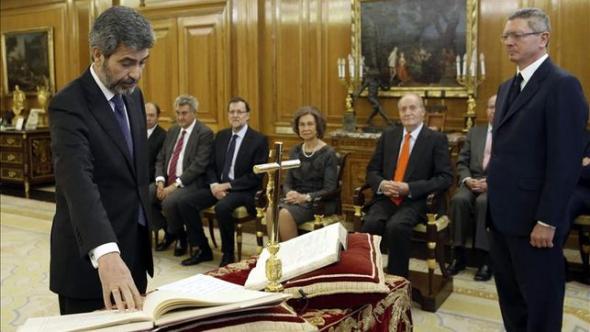 Carlos Lesmes presidente TS y CGPJ toma posesión