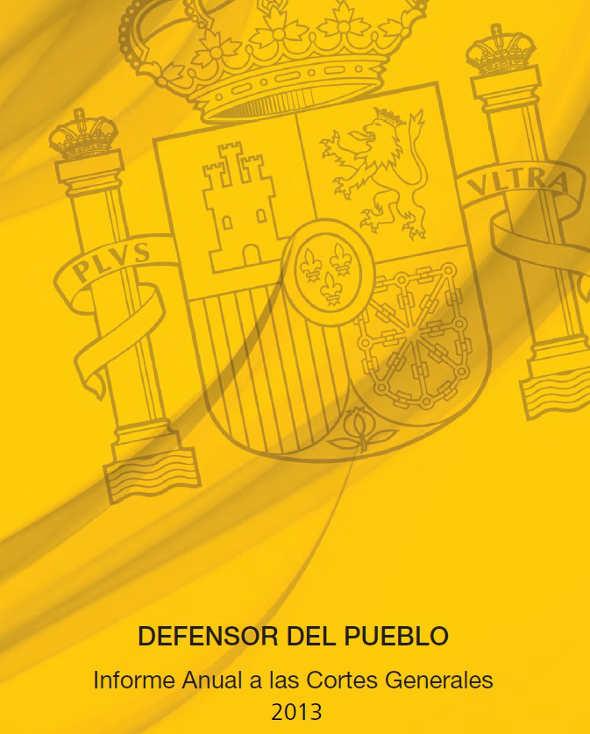 Informe 2013 Defensor Pueblo