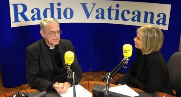Lombardi en Radio Vaticana pederastia 2014