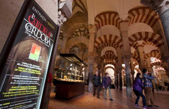 Mezquita Córdoba interior