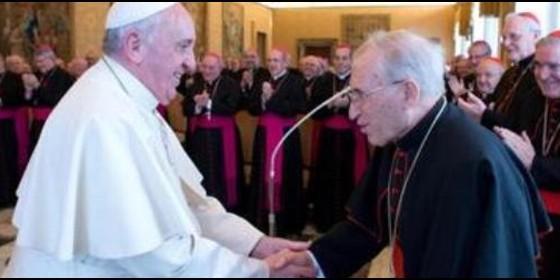 Bergoglio y Rouco 2014
