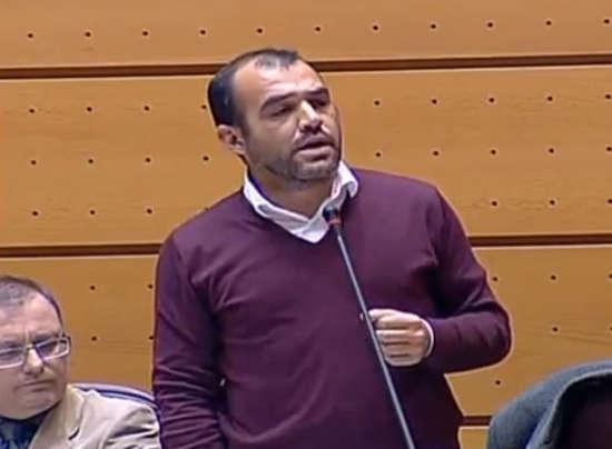 Mariscal senador IU 2014
