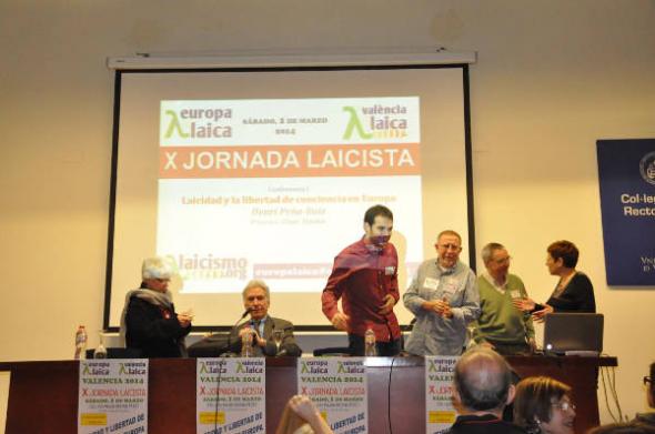 X Jornada Laicista Valencia 2014