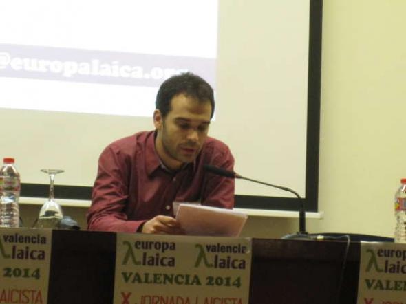X Jornada Laicista Valencia 2014 Cesar Tejedor