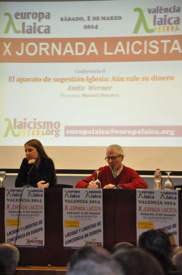 X Jornada Laicista Valencia 2014 Anita