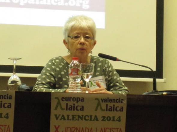 X Jornada Laicista Valencia 2014 Raquel