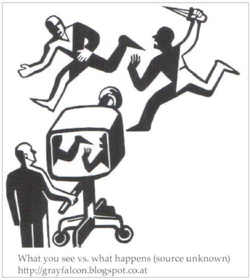 manipulación televisión