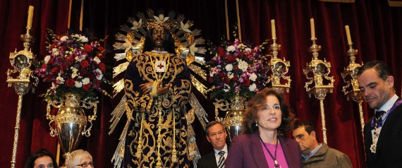 Alcaldesa Ana Botella a Cristo Medinaceli