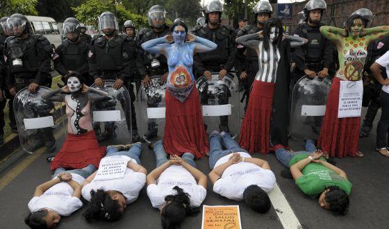 protesta aborto El Salvador