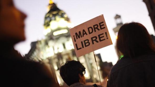 mani 8M 2014 aborto madre libre