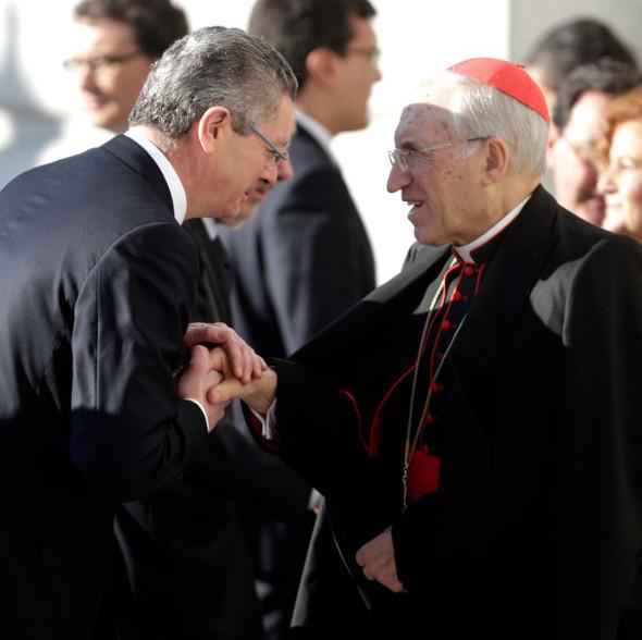 Rouco y Gallardón 2014 misa 11M