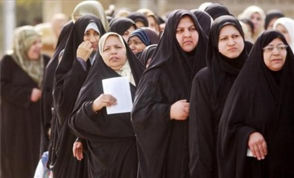 mujeres Irak elecciones 2005