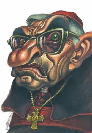 caricatura Rouco
