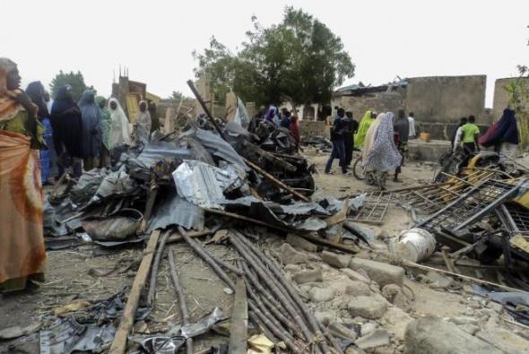 atentando islamista Nigeria 2014