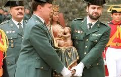 Guardia Civil en Lourdes