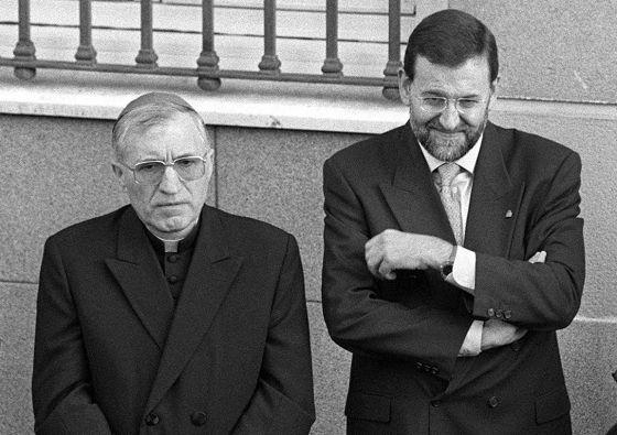 Rouco y Rajoy antes