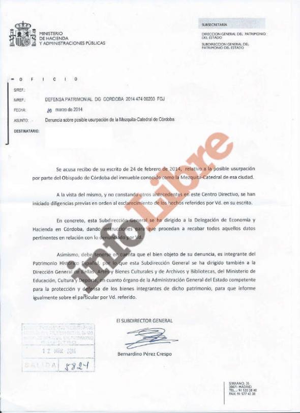 documento Hacienda Mezquita Córdoba 2014