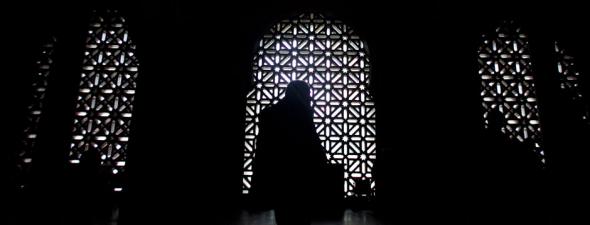 Mezquita de Córdoba muro norte interior