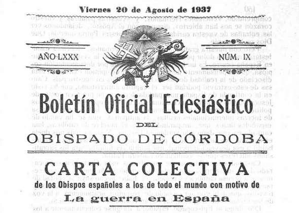 Boletin eclesiastico 1937