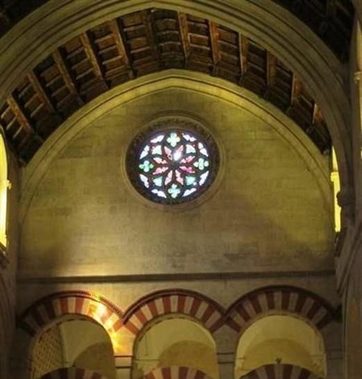 mezquita Córdoba rosetón