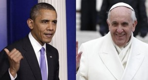 Obama y Bergoglio