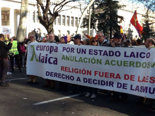 Marcha Dignidad 22M Europa Laica JE1