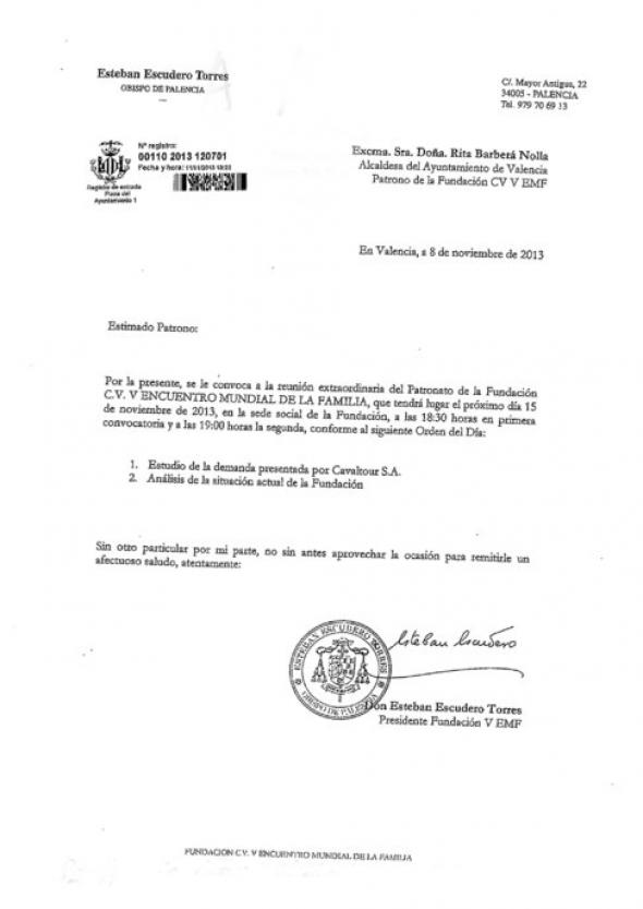 cita Fundación V Encuentro deuda Valencia