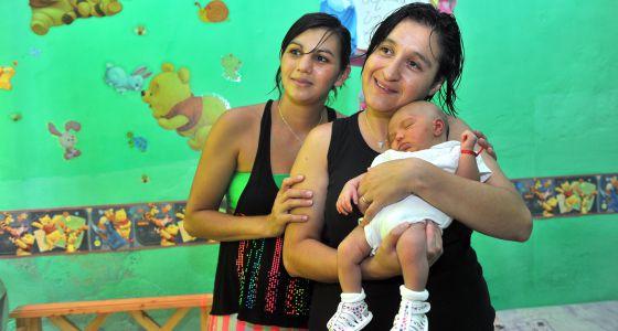 bautizo bebé madres lesbianas ARG2014