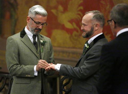 primera boda gay en Inglaterra 2014