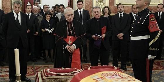 Rouco responso Adolfo Suarez Congreso 2014