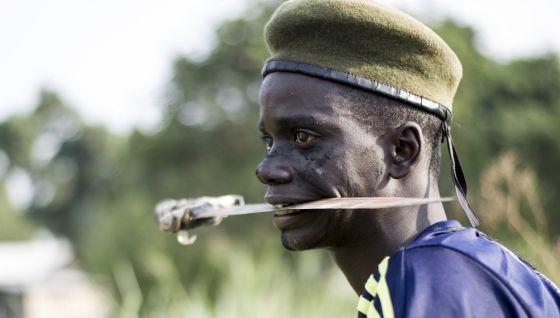 miliciano cristiano centroafricano 2014