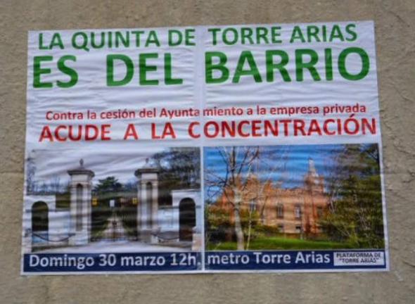 Torre Arias Madrid cartel 2014