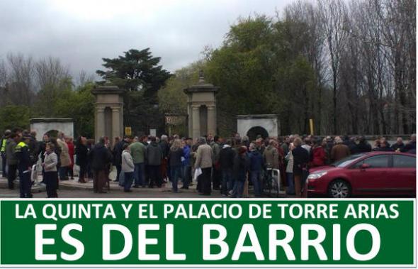 Torre Arias Madrid protesta 2014