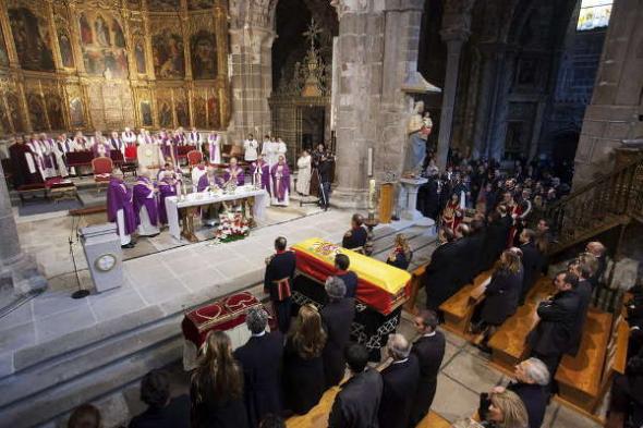 funeral de Estado Adolfo Suarez 2014