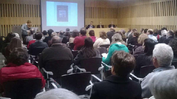 Julio Ferreras presenta libro 2014