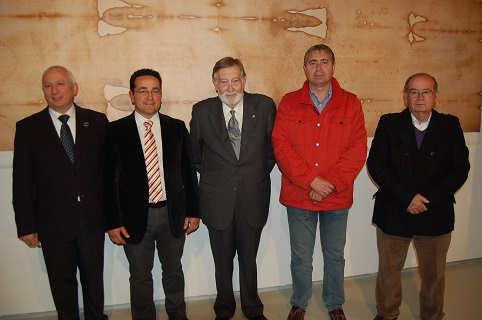 Exposición Sabana Santa Baena autoridades