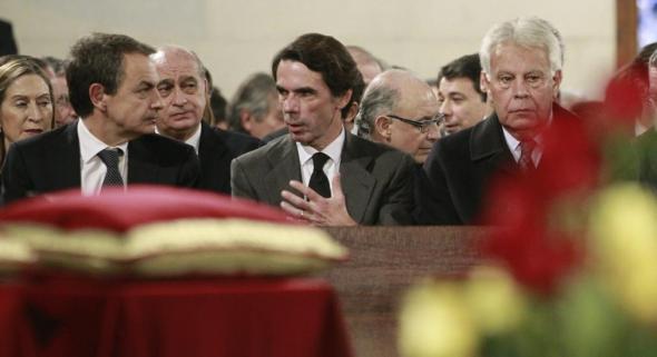 funeral Adolfo Suarez 2014 autoridades