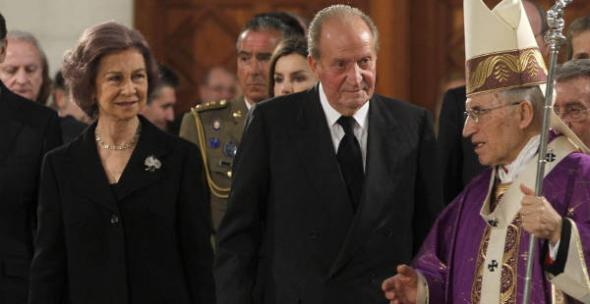Rouco funeral Estado Adolfo Suarez 2014