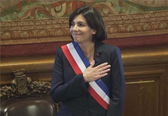 alcaldesa de París Anne Hidalgo 2014