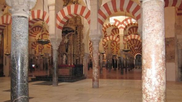 mezquita de Córdoba con capilla