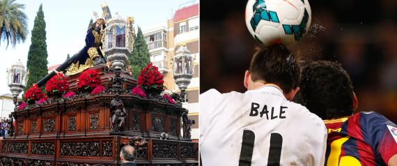procesiones y fútbol